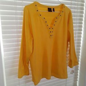 Rafaella Bumblebee yellow shirt
